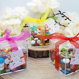 Renkli Şekerli Bonibonlu Doğum Günüm Hedlyelik