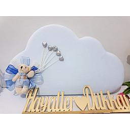 Ayıcıklı Bulut Kapı Süsü