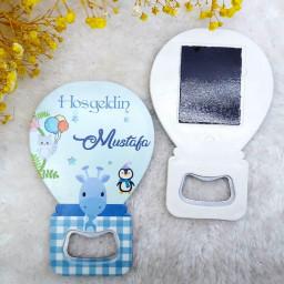 Erkek Bebek Magnetler Balon Açacak HDBL33