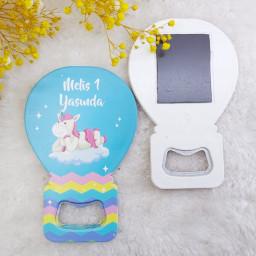 Kız Unicorn Bebek Magnet Balon Açacak HDBL7