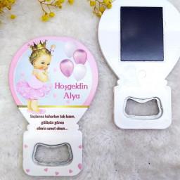 Prenses Bebek Magnetler Balon Açacak HDBL27