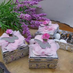 Gümüş Kutu Üzeri Pleksi İsimlikli Kutu Bebek Şekeri