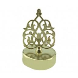 Kubbe bal kavanozu kapağı metal altın p1