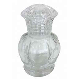 Şişe kral tacı 50 cc kristal kapaklı şeffaf