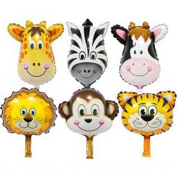 Sevimli Hayvanlar 5 Lı Folyo Balon Set