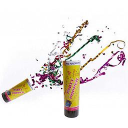 Doğum Günü Süsü Konfeti karnaval metalize rengarenk 15 cm pk:1