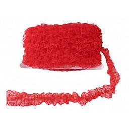 Kurdela dantelli kırmızı 4.2cm p20yard