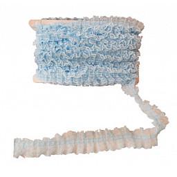 Kurdela dantelli mavi 4.2cm p20yard