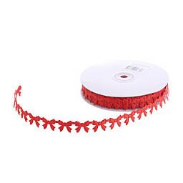 Kurdela fiyonk modeli 2cm kırmızı pk:20yard0