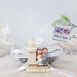 Kız Kulesinde Gelin Damat Nikah Şekeri