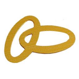 Alyans çiftli metalize süsleme altın pk:50 gr