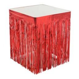 Masa kenarı eteği fonsüs metalize yerli kırmızı pk:1
