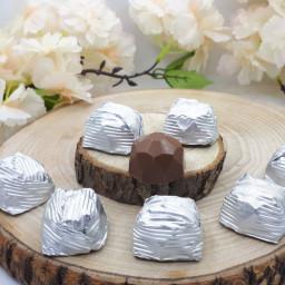 Metal Aynalı Tepside Kız İsteme Çikolatası