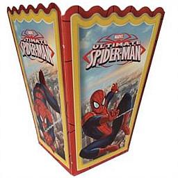 Pop Corn Mısır Kutusu Spiderman Örümcek Adam Temalı