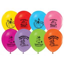 Balon 10 1+1 Sünnet Serisi Baskılı Karışık