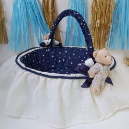 Ayıcıklı Yıldızlı Bebek şekeri Speti Erkek BEbek