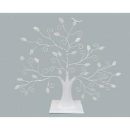 Şeker ağacı kuşlu beyaz p1