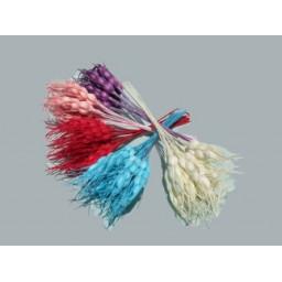 Çiçek başak modeli kırmızı p1