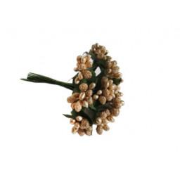 Çiçek cipso görünümünde altın p144