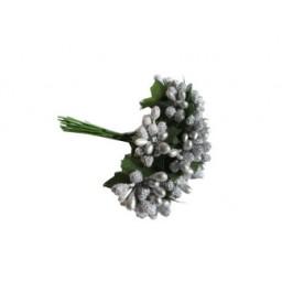 Çiçek cipso görünümünde gümüş p144