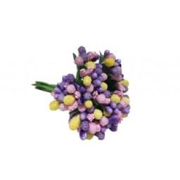 Çiçek cipso görünümünde karışık renk p144