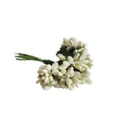 Çiçek cipso görünümünde krem p144