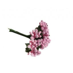 Çiçek cipso görünümünde pembe p144